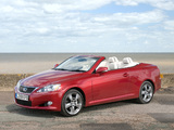 Pictures of Lexus IS 250C UK-spec (XE20) 2009–11