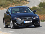 Pictures of Lexus IS 200d (XE20) 2010–13