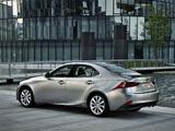 Pictures of Lexus IS 300h EU-spec (XE30) 2013