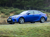 Pictures of Lexus IS 300h F SPORT UK-spec 2016