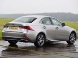 Pictures of Lexus IS 300h UK-spec (XE30) 2016