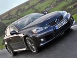 Lexus IS F UK-spec (XE20) 2008–10 wallpapers