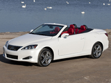 Lexus IS 250C Special Edition (XE20) 2011–12 wallpapers
