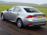 Lexus IS 300h UK-spec (XE30) 2016 wallpapers