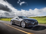 Lexus LC 500h North America 2017 images