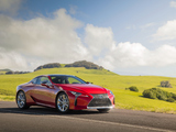 Lexus LC 500 North America 2017 wallpapers