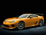 Images of Lexus LFA Nürburgring Performance Package 2010