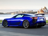 Images of Lexus LFA AU-spec 2011–12