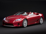 Lexus LF-A Roadster Concept 2008 wallpapers
