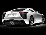 Lexus LFA 2010–12 images