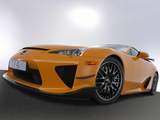 Lexus LFA Nürburgring Performance Package 2010–12 images