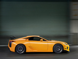 Lexus LFA Nürburgring Performance Package 2010 photos