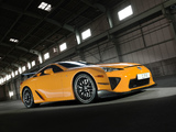 Lexus LFA Nürburgring Performance Package 2010–12 photos