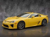 Lexus LFA US-spec 2010–12 pictures