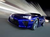 Lexus LFA AU-spec 2011–12 pictures