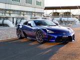 Lexus LFA AU-spec 2011–12 wallpapers