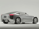 Photos of Lexus LF-A Concept 2005