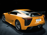 Photos of Lexus LFA Nürburgring Performance Package 2010–12