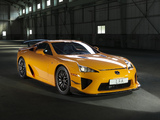 Photos of Lexus LFA Nürburgring Performance Package 2010