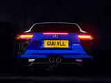 Photos of Lexus LFA UK-spec 2010–12