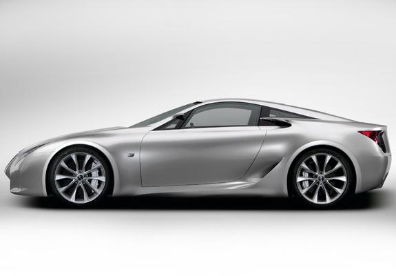 Pictures of Lexus LF-A Sports Car Concept 2007