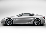 Pictures of Lexus LF-A Sports Car Concept 2007