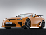 Pictures of Lexus LFA Nürburgring Performance Package 2010–12