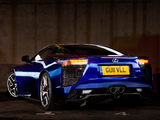Pictures of Lexus LFA UK-spec 2010–12