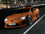 Lexus LFA Nürburgring Performance Package 2010–12 wallpapers