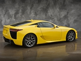 Lexus LFA US-spec 2010–12 wallpapers