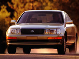 Images of Lexus LS 400 (UCF10) 1989–94