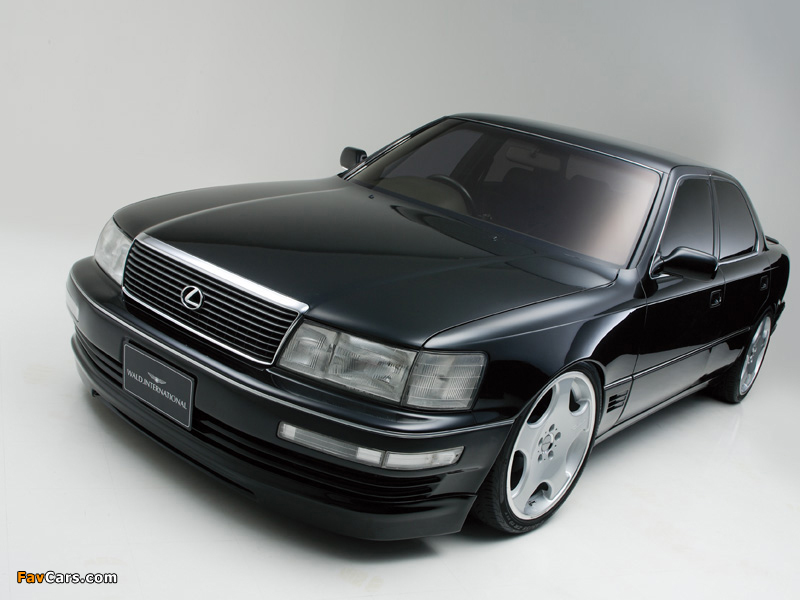 Images of WALD Lexus LS 400 (UCF10) 1990–94 (800 x 600)