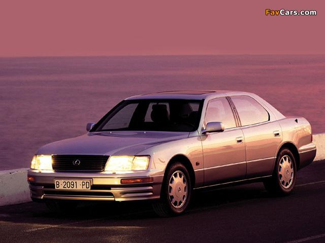 Images of Lexus LS 400 (UCF20) 1995–97 (640 x 480)