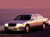 Images of Lexus LS 400 (UCF20) 1995–97