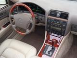 Images of Lexus LS 400 US-spec (UCF20) 1997–2000