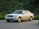 Images of Lexus LS 430 US-spec (UCF30) 2000–03