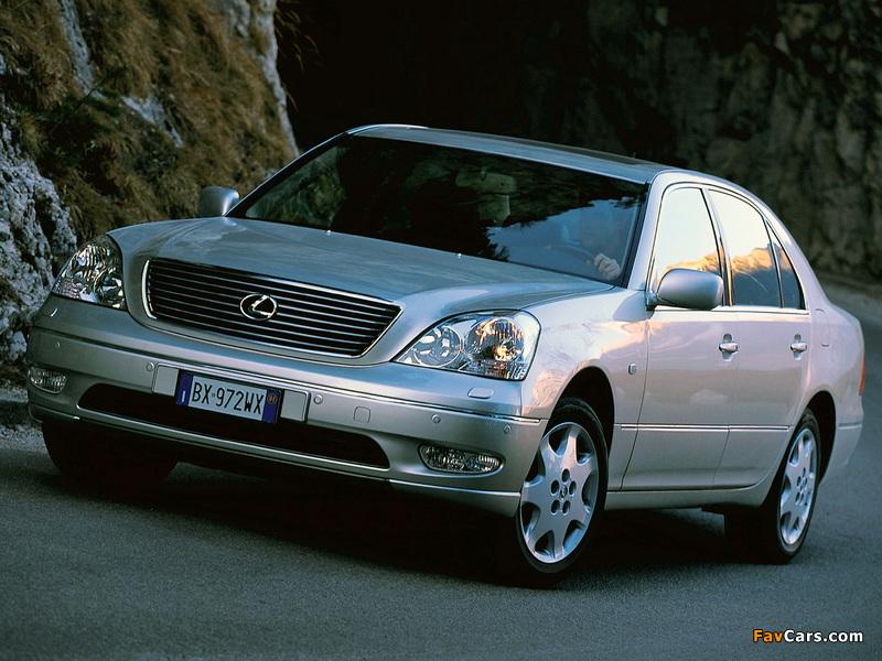Images of Lexus LS 430 EU-spec (UCF30) 2000–03 (800 x 600)