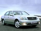 Images of Lexus LS 430 UK-spec (UCF30) 2000–03