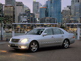 Images of Lexus LS 430 AU-spec (UCF30) 2003–06