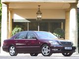 Images of Lexus LS 430 UK-spec (UCF30) 2003–06
