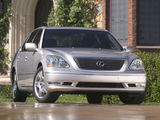 Images of Lexus LS 430 (UCF30) 2003–06