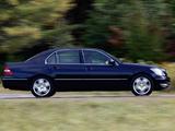 Images of Lexus LS 430 (UCF30) 2003–06