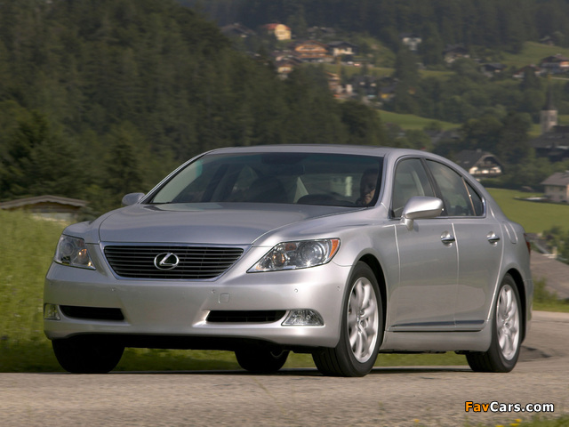 Images of Lexus LS 460 (USF40) 2006–09 (640 x 480)