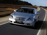 Images of Lexus LS 600h L AU-spec (UVF45) 2009