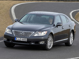 Images of Lexus LS 460 EU-spec (USF40) 2009–12