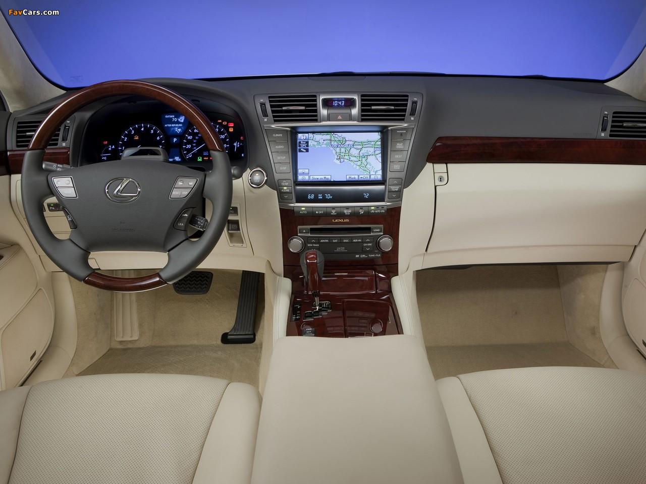 Images of Lexus LS 460L (USF41) 2009–12 (1280 x 960)