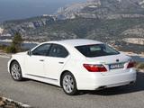Images of Lexus LS 600h EU-spec (UVF45) 2009–12