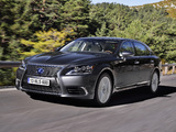 Images of Lexus LS 600h L EU-spec 2012