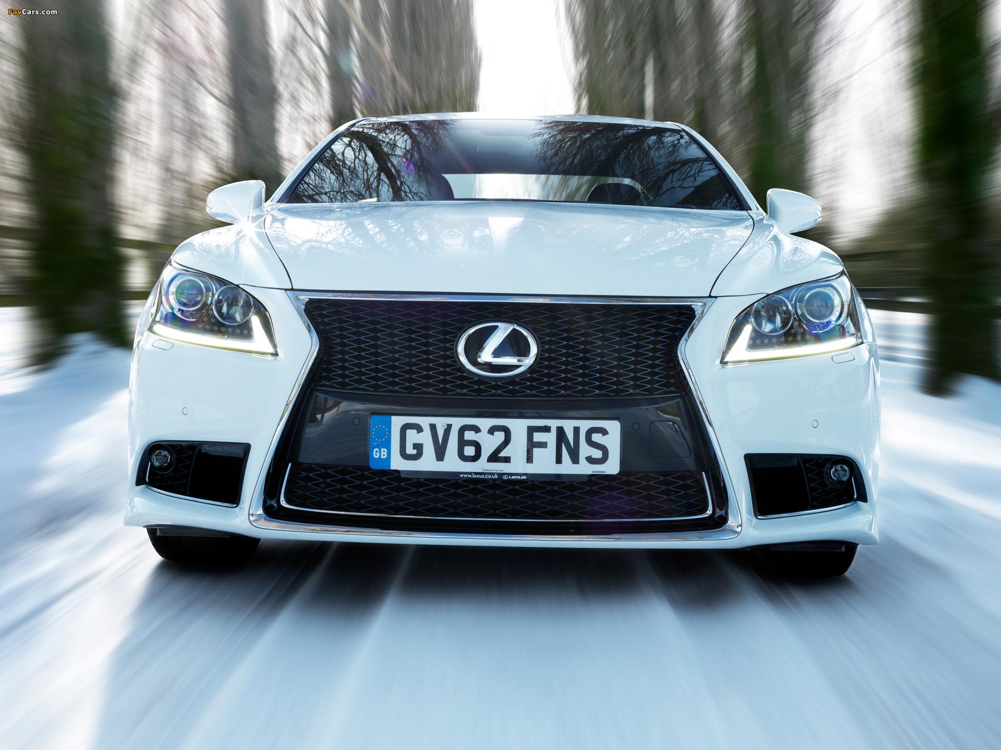 Images of Lexus LS 460 F-Sport UK-spec 2012 (2048 x 1536)