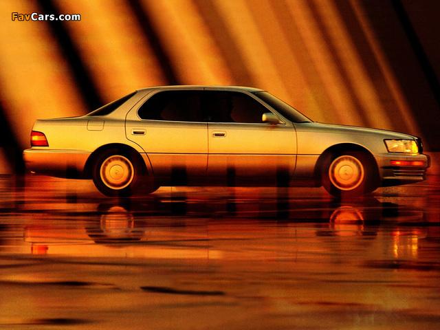 Lexus LS 400 (UCF10) 1989–94 wallpapers (640 x 480)